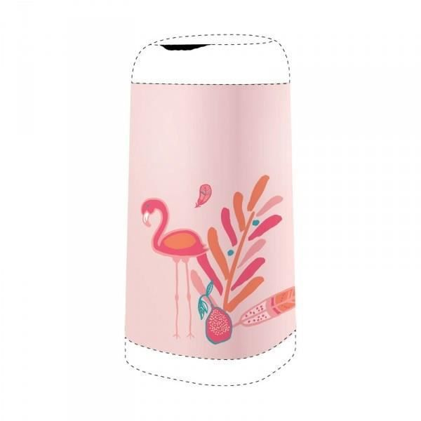 ANGELCARE Housse Décorative pour Bac Dress Up Flamant Rose