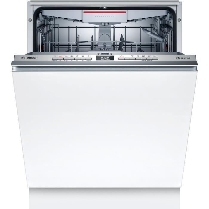 Lave-vaisselle tout intégrable BOSCH SGV4HCX48E Série 4 - 14 couverts - Induction - L60cm - 44 dB