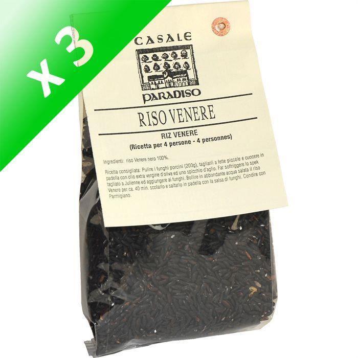 [LOT DE 3] Riz noir Vénéré - 300 g