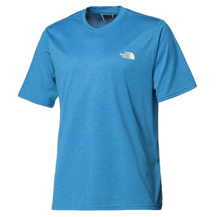 THE NORTH FACE T-Shirt Reaxion Amp Crew - Homme - Bleu