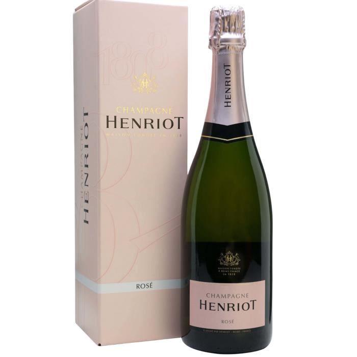 Champagne HENRIOT Brut Rosé
