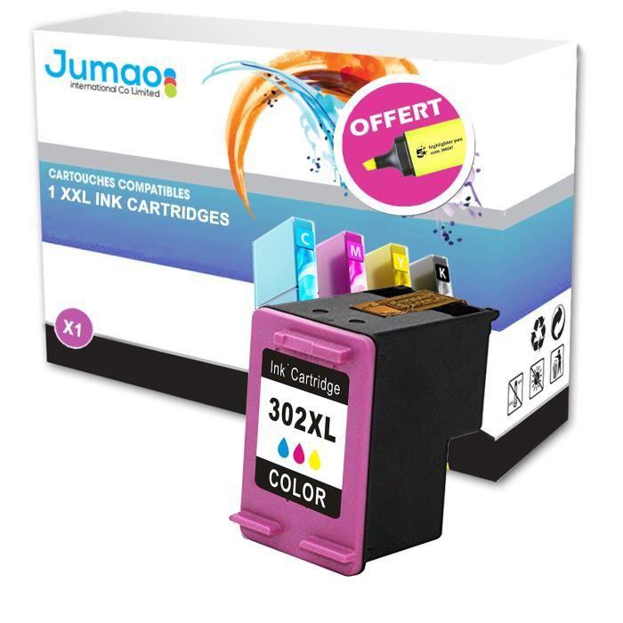 Cartouche jet d'encre compatible pour HP ENVY 4520 4521 4522 4524, Couleurs+ Fluo offert -Jumao