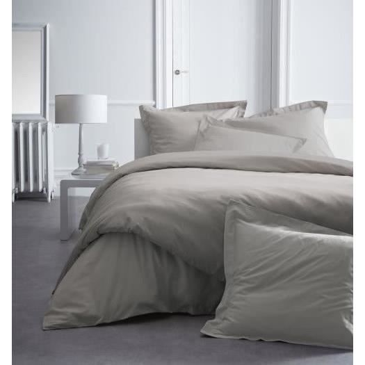 TODAY PREMIUM Drap housse Percale 140 MASTIC
