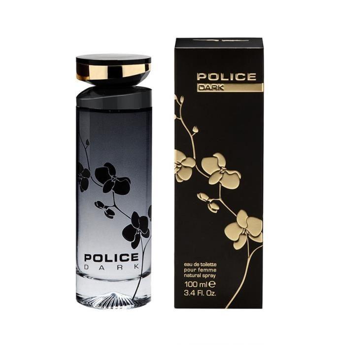 POLICE Dark Eau de toilette pour femme Vapo - 100 ml