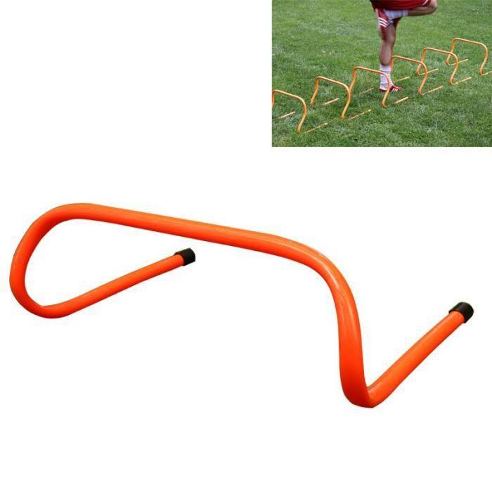 6 pièces Haies de Coordination Football Running Athletisme Exercices Agilité d'entraînement Vitesse équipement en hauteur de 32cm