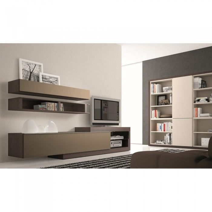 meuble tv taupe neva couleur marron mati re pan achat vente meuble tv meuble tv taupe neva. Black Bedroom Furniture Sets. Home Design Ideas