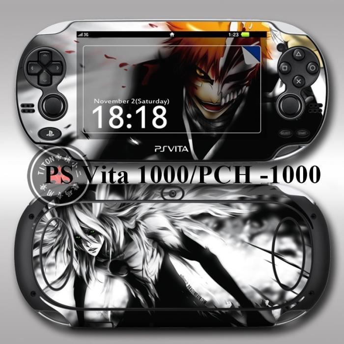 bleach vinyl skin stickers pour ps vita pch 1000 prix. Black Bedroom Furniture Sets. Home Design Ideas