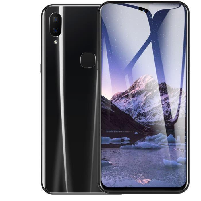 Téléphone portable 6,2 pouces Dual HD écran goutte d'eau Android 8.1