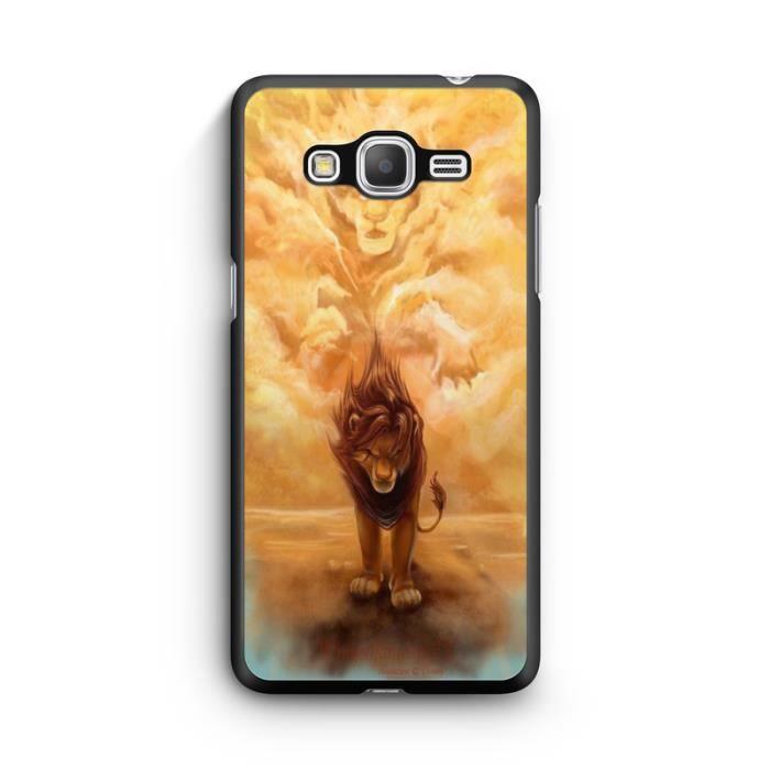 Coque Samsung Galaxy Grand Prime Roi Lion Simba mufasa Lion King ...