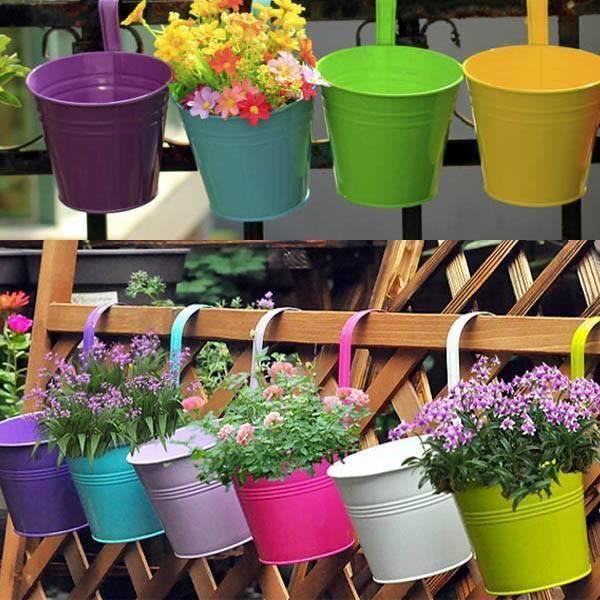 PLANTER - BOW FLOWER Fleur suspendue-8719178878107