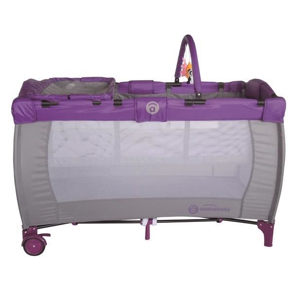 lit parapluie baby fox volutif lilac achat vente lit. Black Bedroom Furniture Sets. Home Design Ideas