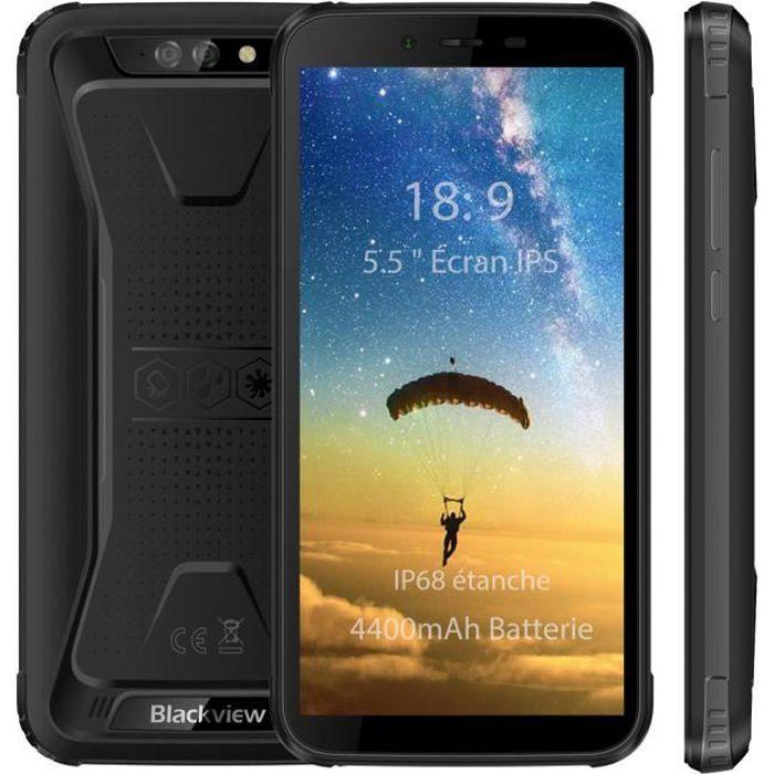 "SMARTPHONE Smartphone Blackview BV5500 IP68 étanche 5,5"" Écra"