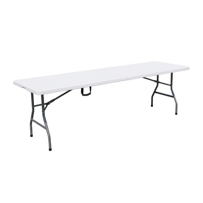 Table Pliante 240 Cm Achat Vente Pas Cher