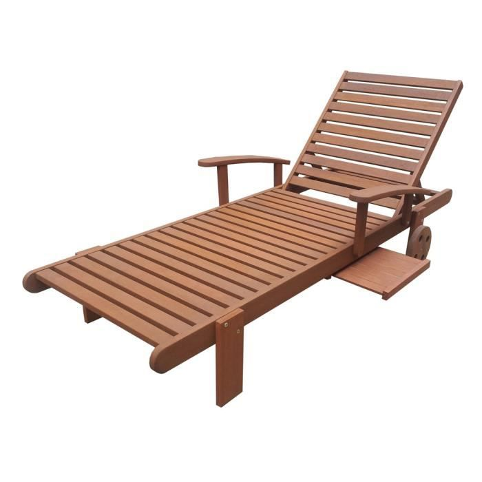 bain de soleil s oul en bois bali confort avec achat vente chaise longue bain de soleil. Black Bedroom Furniture Sets. Home Design Ideas