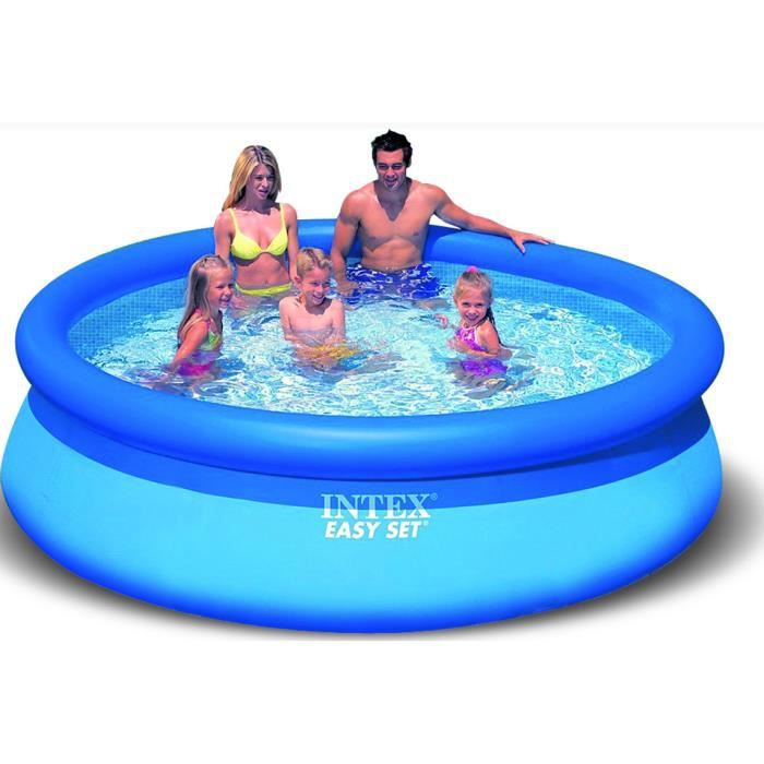 Piscine intex easy pool 244 x 76 cm achat vente for Piscine intex 244 avec filtre