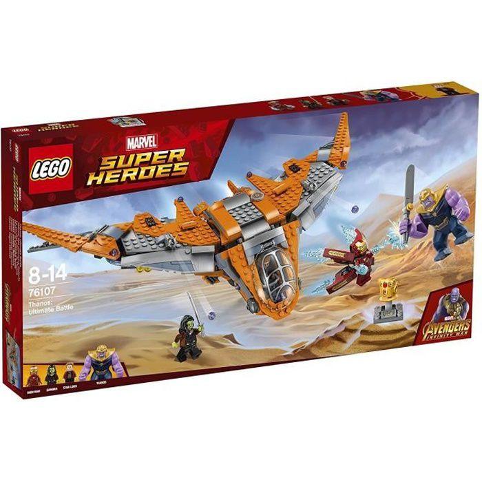 ASSEMBLAGE CONSTRUCTION LEGO® Marvel Super Heroes 76107 Le combat ultime d