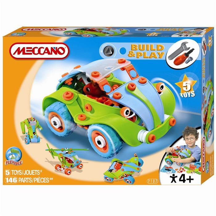meccano boggy car achat vente assemblage construction. Black Bedroom Furniture Sets. Home Design Ideas
