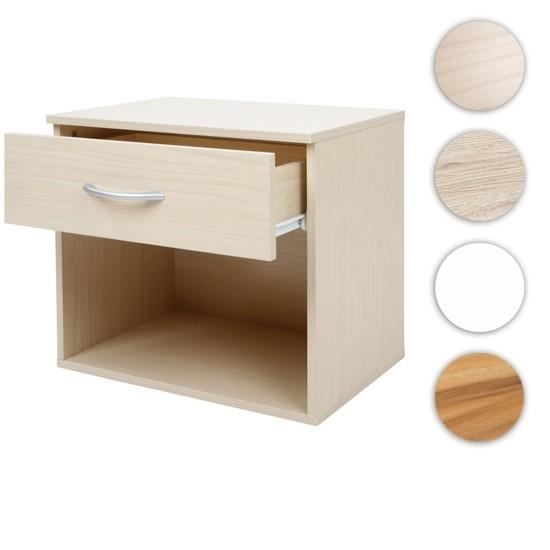 Table de chevet blanc achat vente chevet table de for Table de chevet bebe