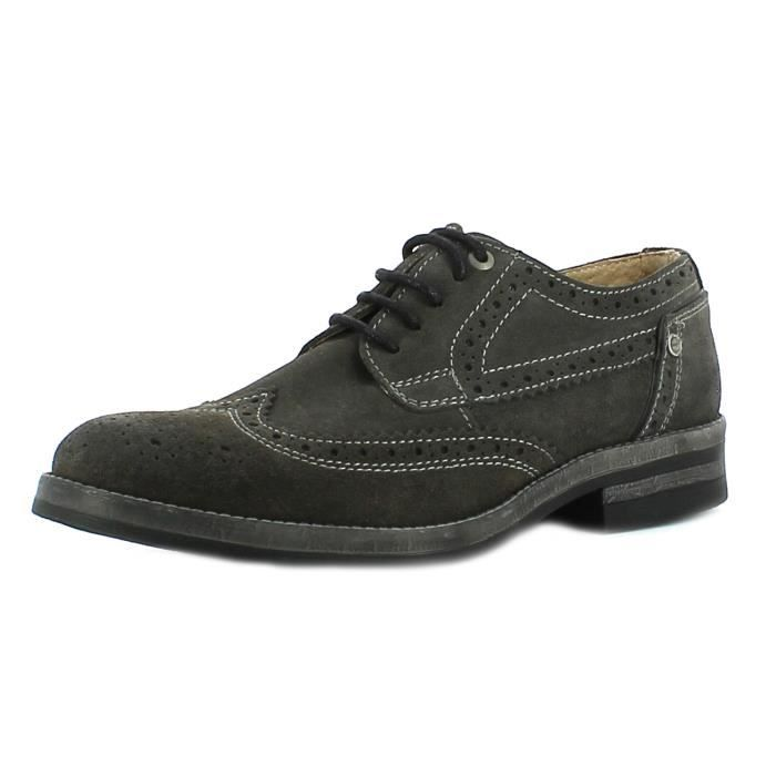 Wrangler Bottes Homme Gris Stone Brogue