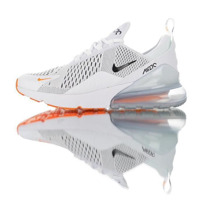 nike air max 270 blanche orange