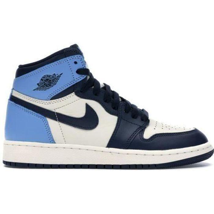 Basket Jordans 1 Retro High Jordans one AJ 1 pour Femme chaussures ...
