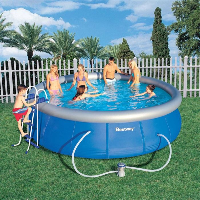 piscine autostable ronde 457x107 achat vente kit On piscine autostable