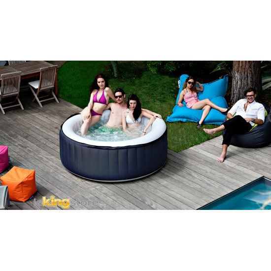 spa gonflable jacuzzi spark 4 places achat vente spa complet kit spa spa gonflable jacuzzi. Black Bedroom Furniture Sets. Home Design Ideas