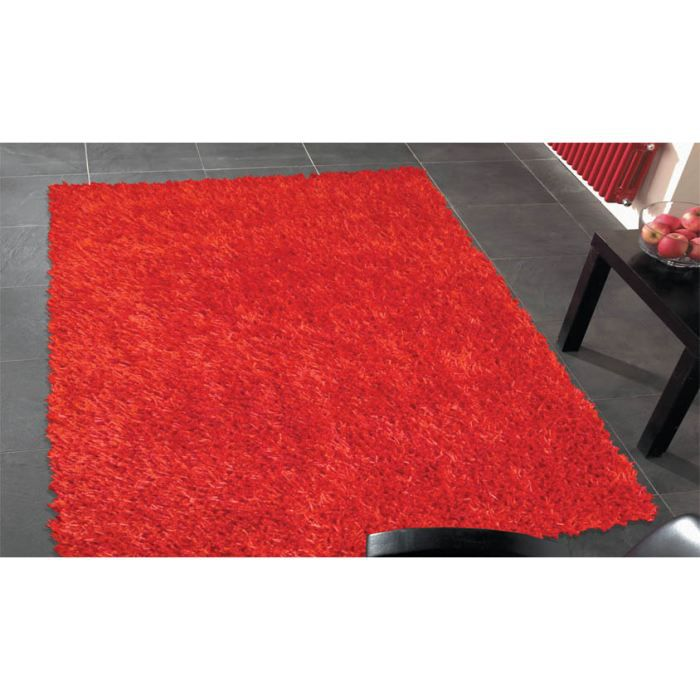 tapis poils long spider red cm 150x210 achat vente. Black Bedroom Furniture Sets. Home Design Ideas