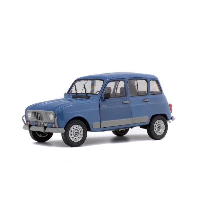 solido voiture miniature de collection 1 18 me renault 4 gtl clan 1986 bleu ardoise achat. Black Bedroom Furniture Sets. Home Design Ideas