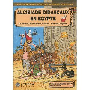 BANDE DESSINÉE Alcibiade Didascaux en Egypte