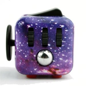 HAND SPINNER - ANTI-STRESS Fun 6 cube Sided Dice Fidget anxiété Attention Str