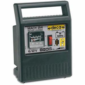 CHARGEUR DE BATTERIE Chargeur de batterie 6/12 V 50 W Mach 214