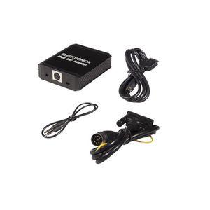 Adapter-Universe C/âble Adaptateur AUX pour BMW E60 E61 E63 E64 vers iPod//iPhone et Autres dispositifs Line in avec raccord 12 Broches