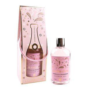 COFFRET CADEAU CORPS Coffret Gel Douche 360ml CÉLÉBRATION Parfum CRANBE