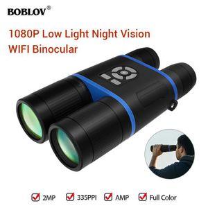 JUMELLE OPTIQUE BOBLOV 8-52mm HD Binoculaire Jumelle Vision Noctur