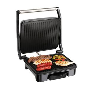 GRILL ÉLECTRIQUE Gril viande et panini - revêtement anti-adhésif -