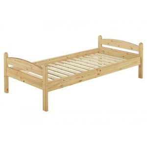 STRUCTURE DE LIT 60.32-08 lit solide en pin massif naturel, lit enf