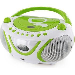 RADIO CD ENFANT MET 477108 Radio CD-MP3 by Gulli Vert