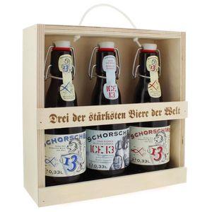 BIÈRE Trio des bières fortes - 3 bières parmi les plus f