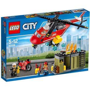 ASSEMBLAGE CONSTRUCTION LEGO® City 60108 L'Unité de Secours des Pompiers
