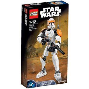 ASSEMBLAGE CONSTRUCTION LEGO® Star Wars 75108 Figurine Commandant Clone Co