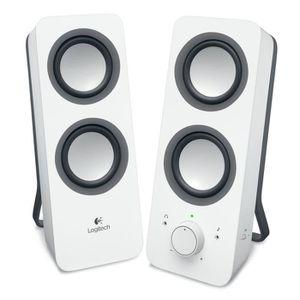 ENCEINTES ORDINATEUR Logitech Z200 Enceintes PC 10 watts Blanc