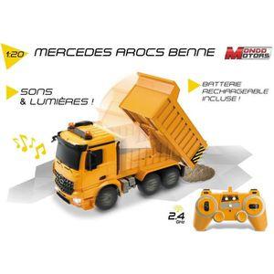 VOITURE - CAMION Mondo Mercedes - Voiture RadioCommandée -  Camion