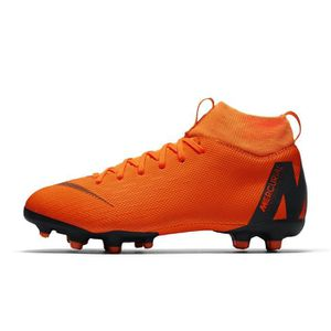 3608d90f302f2 Chaussures football Chaussure de Football Nike Mercurial Superfly VI  Academy DF MG Orange Junior
