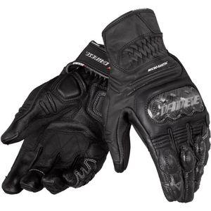 Gants de Protection Etanche Ecran Tactile Hiver Et/é pour Scooter Motocross VTT VTT /équitation Cyclisme Noir: XL kati-way-123 Gants Moto en Cuir pour Homme Femme