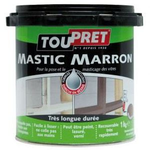 mastic marron 1 kg achat vente colle pate fixation cdiscount. Black Bedroom Furniture Sets. Home Design Ideas
