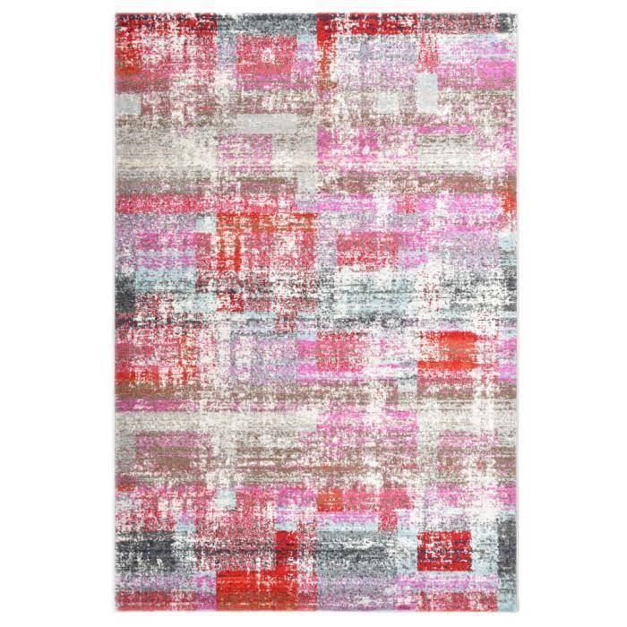 Tapis Multicolore Tapis de sol Tapis de salon 160x230 cm PP