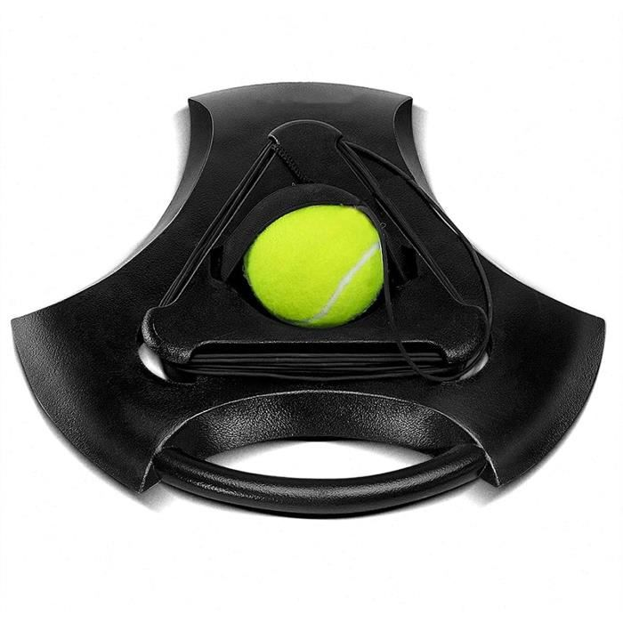 BALLE DE TENNIS s Formateur Rebound Tennis Tennis Machine Portable Tennis Tennis Tennis Tennis Ball sur une chaicircne Tennis Pr56