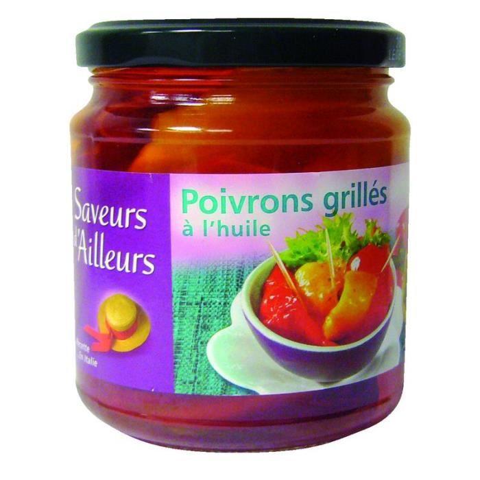 Poivrons grillés à l'huile - 280 g