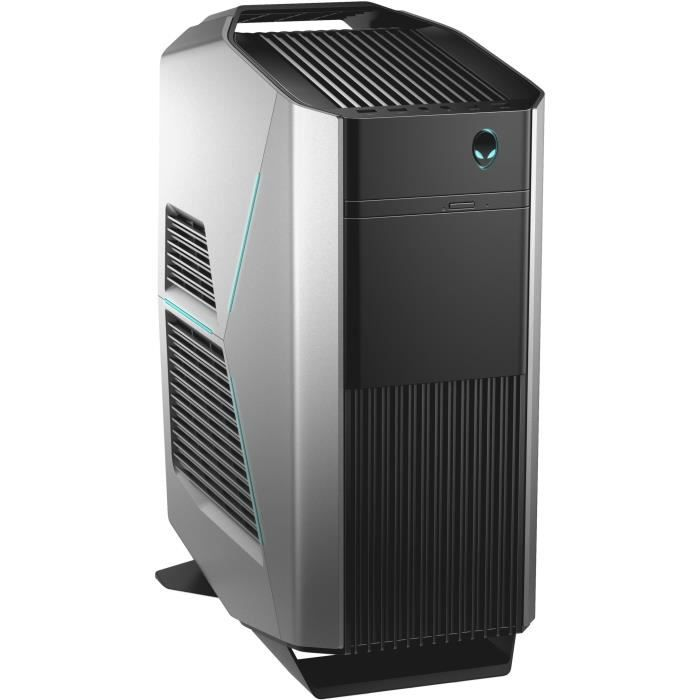 DELL PC Gamer Alienware Aurora R7 - RAM 8Go - Core i7-8700 - GTX 1070 - 1To + 256Go SSD - Windows 10 Advanced